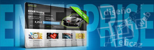 Web Enterprise: Diseño de portal web profesional